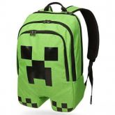 Mochila Minecraft Creeper Acolchoada,original